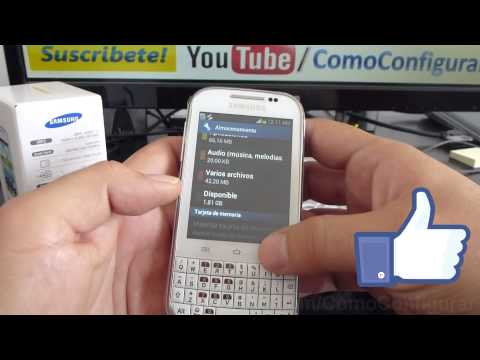 caracteristicas samsung galaxy chat gt b5330 español Video Full HD
