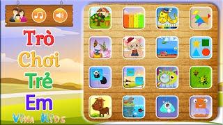 Game Trẻ Em: Trò Chơi Giáo Dục Cho Bé
