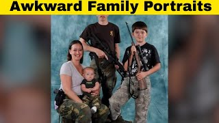 Hilariously Embarrassing and Awkward Family Portraits!