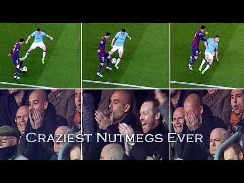 Lionel Messi ● Craziest Nutmegs Ever