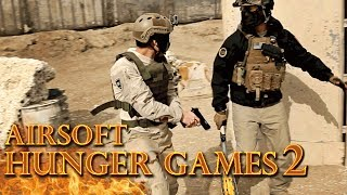 Hunger Games 2 Airsoft Edition! - Get Out and Play - Episode 3 (Airsoft GI Gameplay)