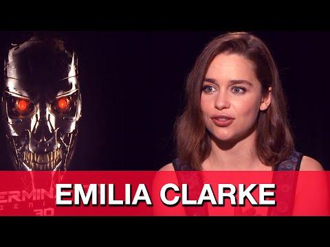 Emilia Clarke Terminator Genisys Sarah Connor Interview