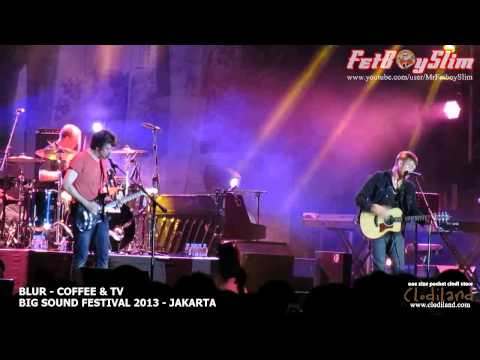 BLUR - COFFEE And TV live at Big Sound Festival Jakarta, Indonesia 2013