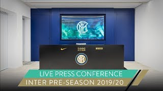 GIUSEPPE MAROTTA AND ANTONIO CONTE | LIVE PRESS CONFERENCE | INTER PRE-SEASON 2019/20