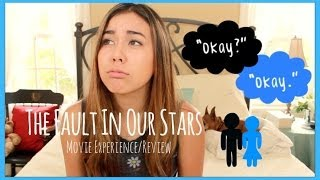 """The Fault In Our Stars"" Movie Experience/Review!"