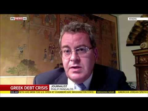 Philip Pangalos Talks To Sky News About The Situation Regarding Greece's Economy