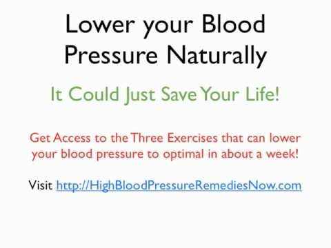 High Blood Pressure Remedies - Natural Hypertension Cures