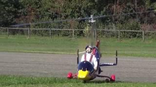 RED BULL Autogyro Copter Mto Sport 3.75 Meter Rotor Span 12S Lipo 10'000mah