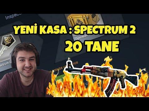 CSGO YENİ SPECTRUM 2 KASALARA BAŞLIYORUZ !