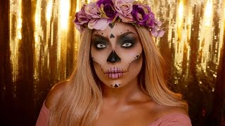 Day of the Dead Skull - IRISBEILIN