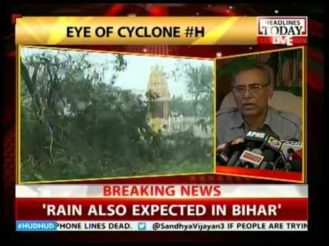 India Meteorological Department briefs media on cyclone Hudhud