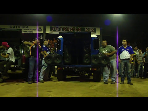 sound car machique team el toro
