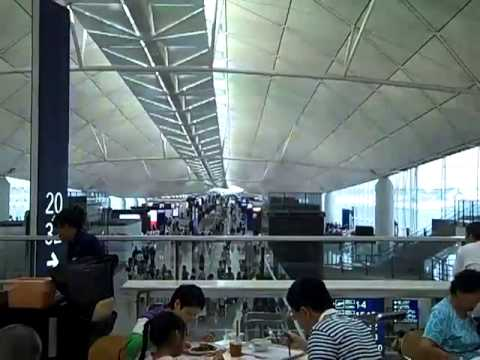 Hong Kong International Airport on Chek Lap Kok Island