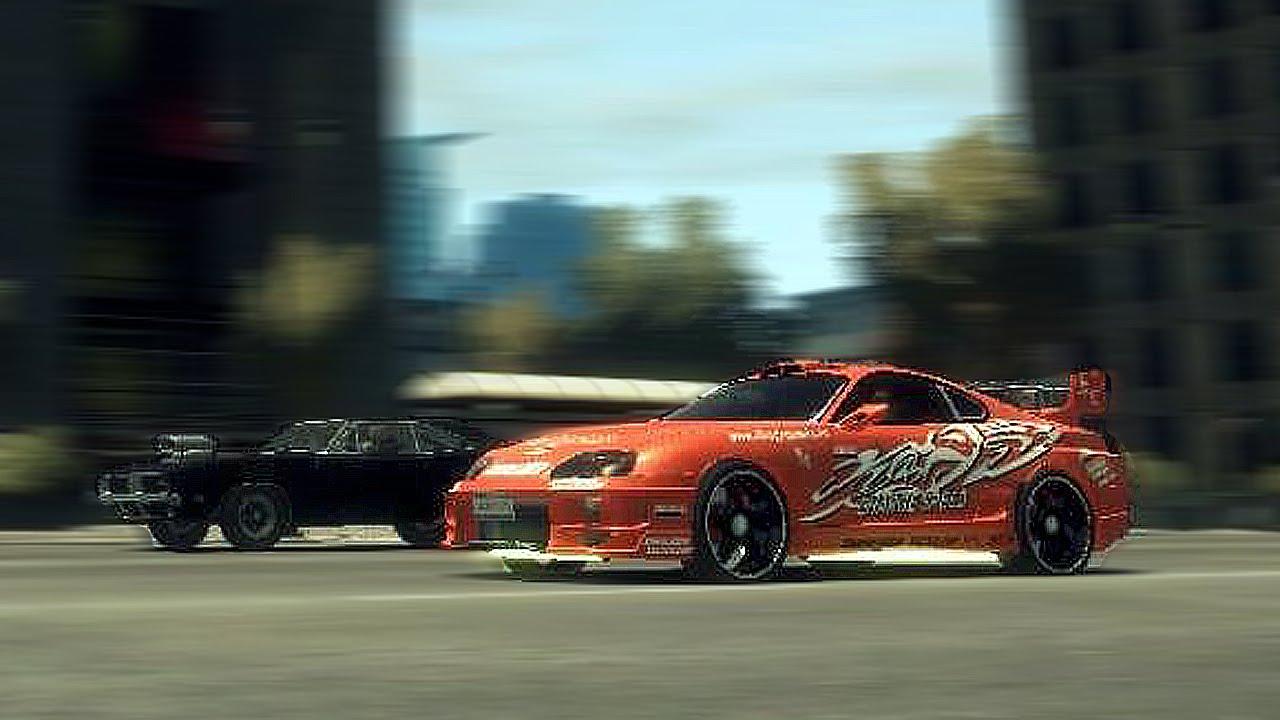 Gta 4 Fast And Furious Drag Race Scene Youtube