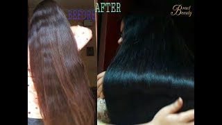 2 Step Henna Indigo Process| Dye Hair Black Naturally With Henna+Indigo