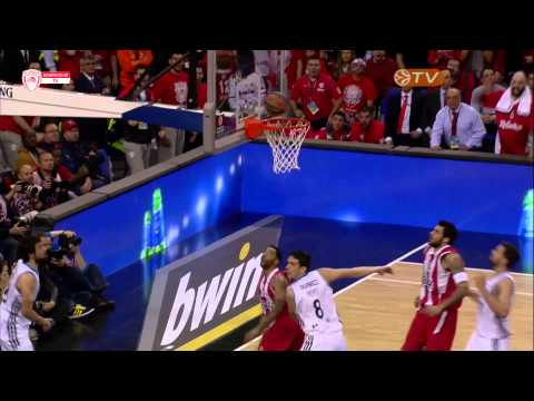 VASILIS SPANOULIS: THE MVP OF THE EUROLEAGUE FINAL FOUR