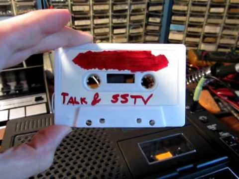 Tape and Slow-Scan Television (SSTV)