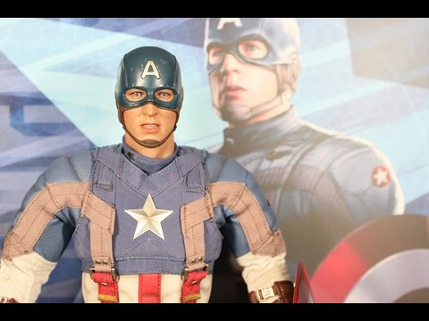 Captain America Golden Age version Hot Toys Captain America: The Winter Soldier figure review
