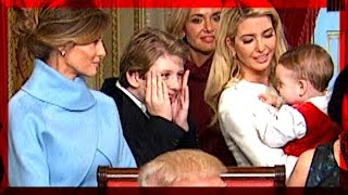 Uncle Barron Trump Plays PEEKABOO & HIDE and SEEK with Ivanka Trump