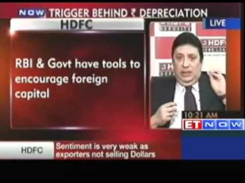 RBI and government have tools to encourage foreign capital: HDFC Ltd