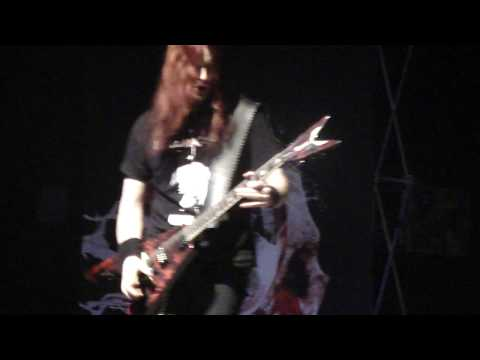 Arch Enemy - Christopher Amott Solo (Live) Calgary 2/2/10