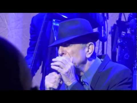 Leonard Cohen, Show Me The Place, Boston 16-12-2012.