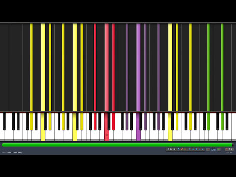 [Black MIDI] Synthesia - History of the Moon 580,000 note remix 60 FPS ~ EpreTroll