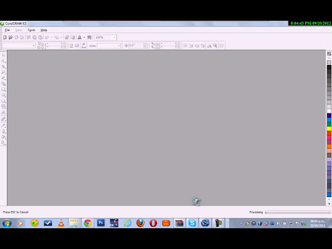 Como descargar corel draw X3 portable
