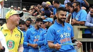 Australia vs India 1st ODI 2016 Highlights at Perth - Rohit Sharma Century (171)
