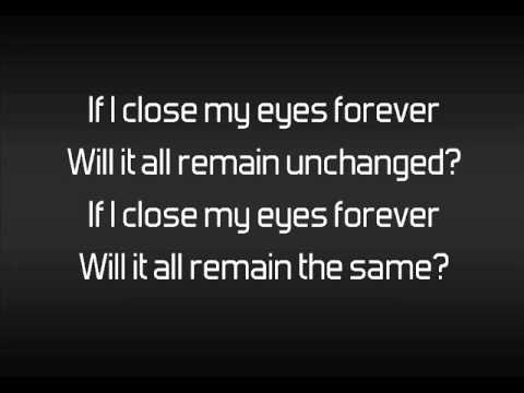 Device - Close My Eyes Forever Lyrics (feat Lzzy Hale)