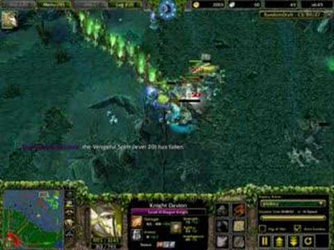 DoTA Dragon Knight 4v1 Fight Throneit.com Video