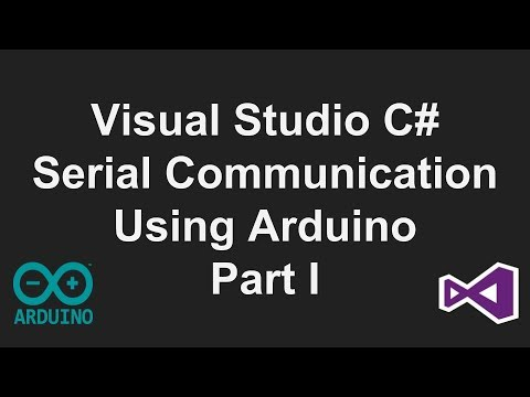 Visual Studio C# Serial Communication Tutorial- Part 1