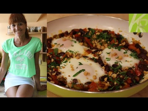 Jak Zrobić Jajka Sadzone Po Meksykańsku [KuchniaRenaty]