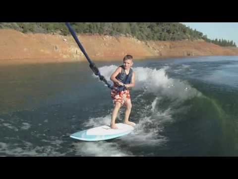 How to Wakesurf 101 - Get the Kid's Wakesurfing Video