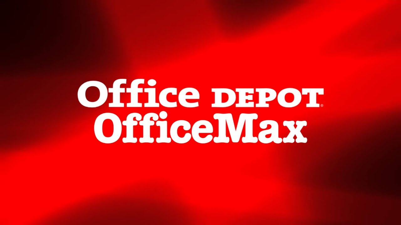 Office Depot And Officemax Logos Youtube