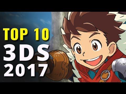 Top 10 Nintendo 3DS Games of 2017