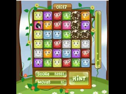 Jingo match3 game level1 and level5 complete score 56745