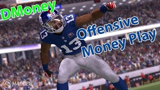 Madden 16: UNSTOPPABLE OFFENSIVE MONEY PLAY! Bucs Y-Drag! FLOOD CONCEPT!