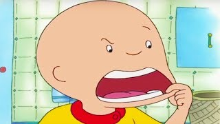 Funny Animated Cartoons | CAILLOU IS ILL | Cartoon Caillou | Videos For Kids