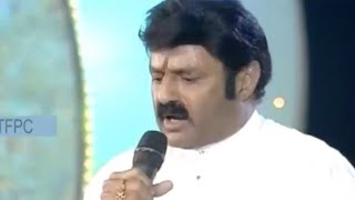 balakrishna-singing-legend-songmemu-saitam-event-livememu-saitham-for-hudhud