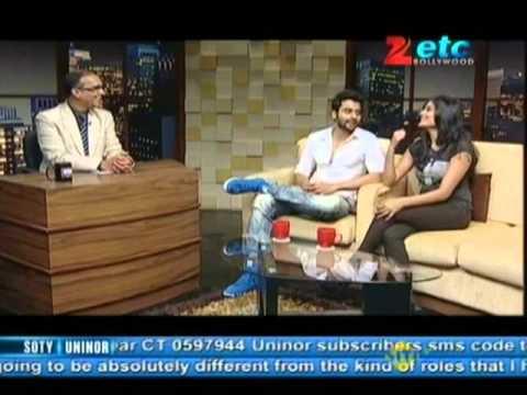 Jackky Bhagnani & Nidhi Subbaiah With Komal Nahta