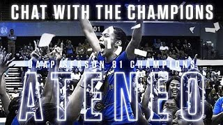 Off The Court with Ateneo Lady Eagles | #ChatWithTheChampions