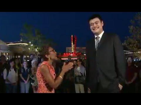 Yao Ming Interview on Shanghai Disney