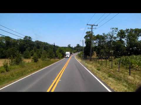 Virginia Route 28 to Manassas, Virginia