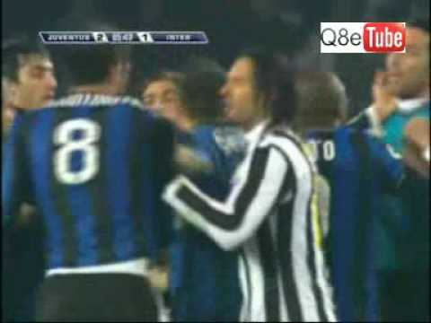 Juventus VS Inter Milan Fight