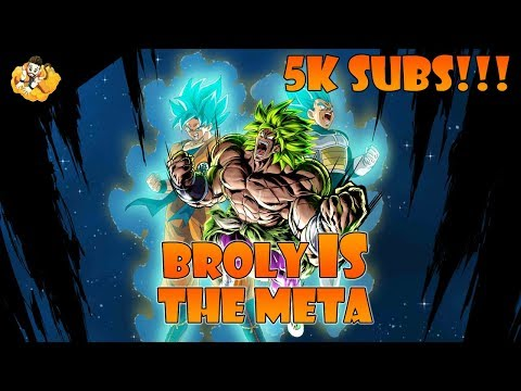 5k Subs Broly Power Creep Meta Dragon Ball Legends DB DBL MP3