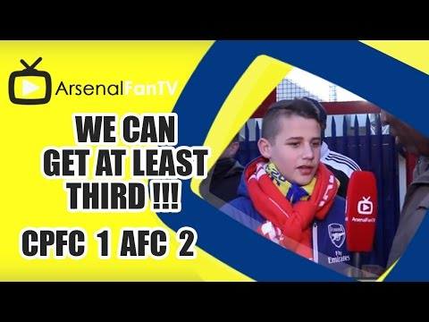 We Can Get At Least Third !!! - Crystal Palace 1 Arsenal 2