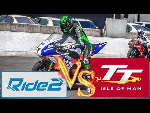 Ride 2 vs TT Isle of Man Ride on the Edge кто лучше? Стрим батл лучших мотосимуляторов