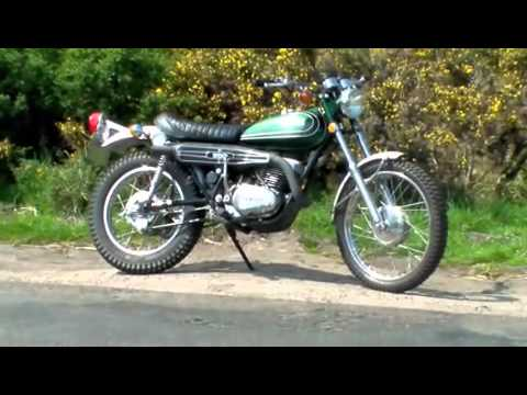 Yamaha DT3 DT250 Enduro 1973