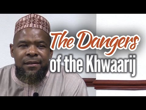 The Dangers of the Khawaarij - Abu Usamah At-Thahabi